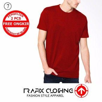 Baju Merah Polos