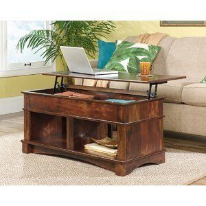 Millikan Standard Bookcase 1000 Coffee Table Living Room Table Lift Top Coffee Table