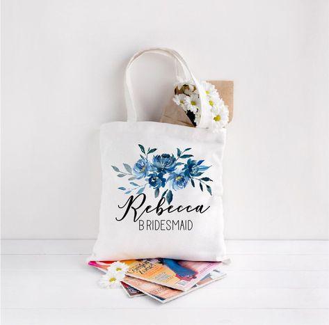 Bridal Party bags, Blue Floral Wedding, Floral Wedding, Wedding Gift Bag, Personalised Tote Bag, Bridesmaid Bag, Bridal Party Gifts, Robes :  Bridal Party bags, Blue Floral Wedding, Floral Wedding, Wedding Gift Bag, Personalised Tote Bag, Bridesmaid Bag, Bridal Party Gifts, Robes by JudeDesignsUk on Etsy www.etsy.com/…  #Bag #Bags #bestBridalPartyGifts #Blue #Bridal #Bridesmaid #floral #Gift #gifts #Party #Personalised #Robes #Tote #Wedding