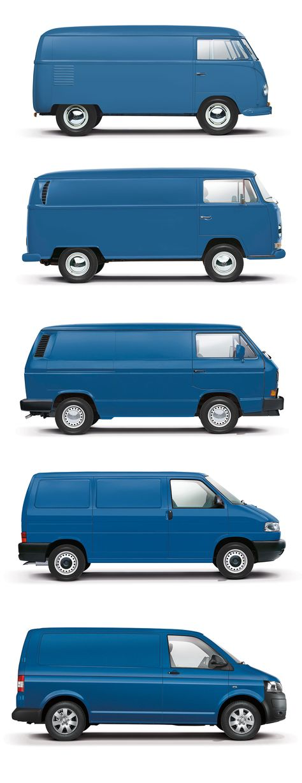 Sixth-gen Volkswagen Transporter previewed in design render - Car Body Design - | ⇆ 234| uk| https://www.pinterest.com/genashev/vw-t3/