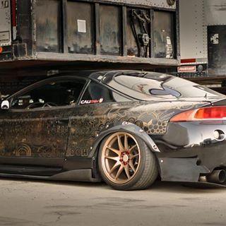 La Imagen Puede Contener Automovil Y Exterior Mitsubishi Eclipse Tuner Cars Sweet Cars