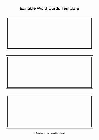 Word Flash Card Template New 21 Of Blank Task Cards Template Black And White Printable Flash Cards Flash Card Template Flashcards