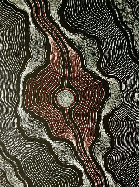 Aboriginal Art Painting by Anna Petyarre Pitjara ~ My Country