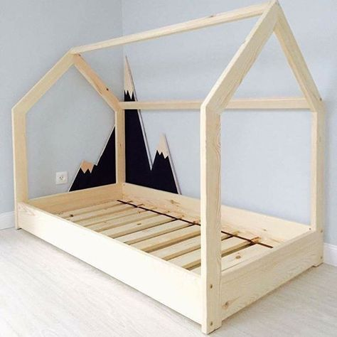 Bauanleitung Kinderbett this bed idea wood work rooms room and