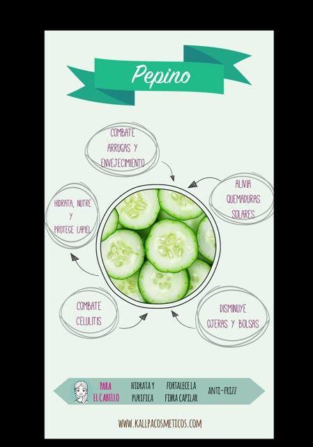 los beneficios del pepino para la piel