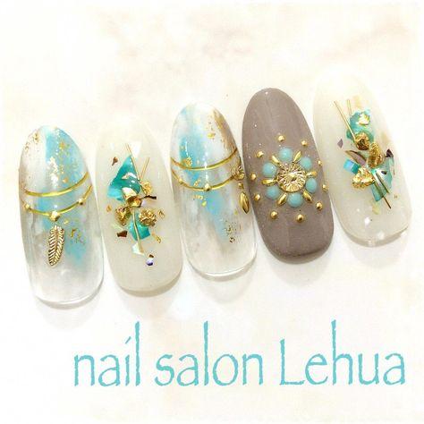Grey nail tips design #nailtipsvideos