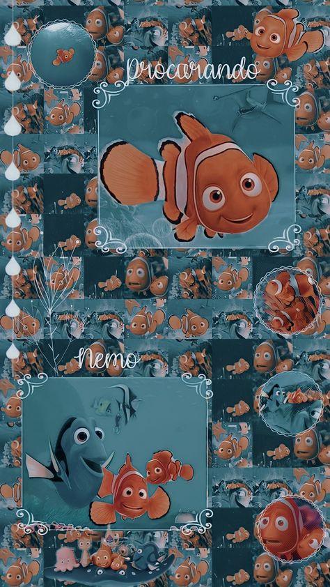 Edits Wallpaper Procurando Nemo
