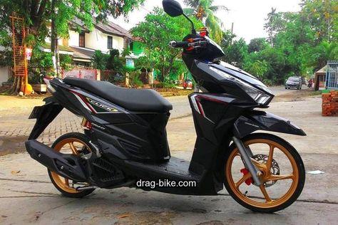 Modifikasi Vario 150 Warna Hitam Honda
