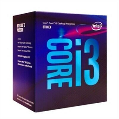 Sponsored Intel Cpu Bx80684i38100 Core I3 8100 Boxed 6m Cache 3 6ghz Lga1151 4c 4t Retail In 2020 Intel Core Intel Processors Intel