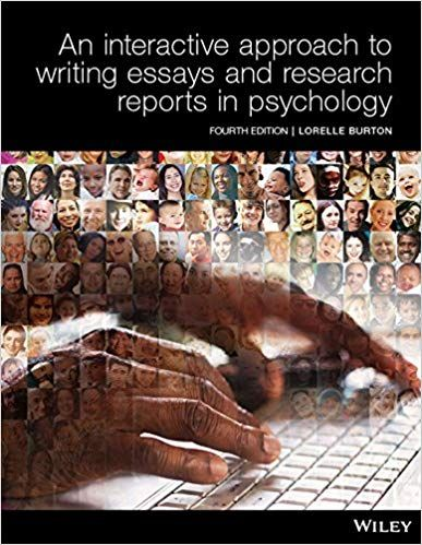 Pin On Ebook An Interactive Approach To Writing Essays And Research Reports In Psychology Black White Just 20 Click The Link To Get It Now