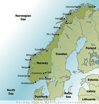 Click the map Preikestolen Norway in a nutshell Fjord Tours