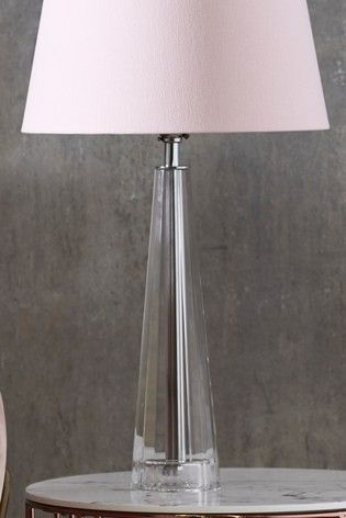 Henfield Glass Table Lamp Base Glass Desk Lamps