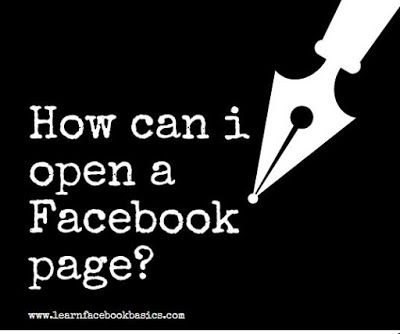 How To Create A Facebook Fan Page Business Pages Delete Facebook Create Sign
