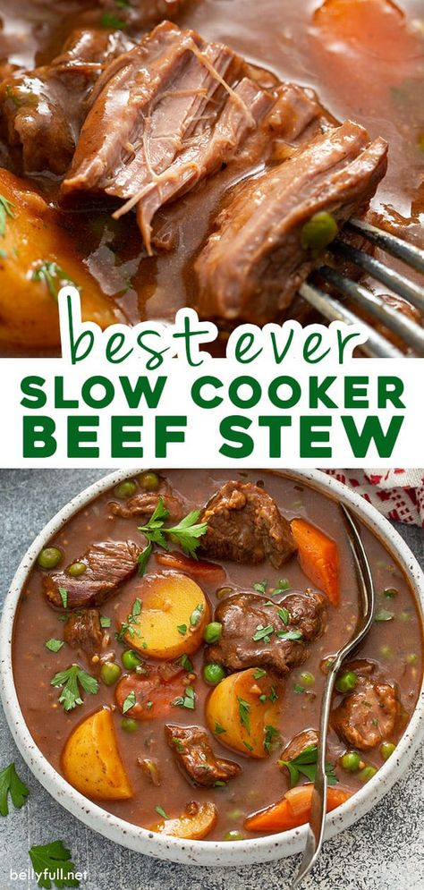 Stew Meat Recipes, Cooking Recipes, Healthy Recipes, Slow Cook Beef Recipes, Dinner Crockpot Recipes, Stewing Beef Recipes, Crock Pot Soup Recipes, Crock Pot Dinners, Slow Cooker Recipes Family