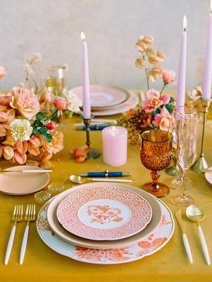 Modern Meets Colorful Korean Traditional Wedding Inspiration