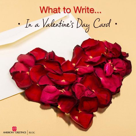 What To Write In A Valentine S Day Card Valentines Cards