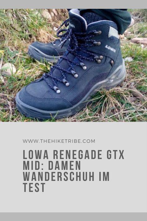 Der Lowa Renegade GTX Mid Damen ist einer der beliebtesten