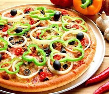 طريقة عمل عجينة البيتزا باللبن الرايب Delicious Pizza Vegetable Pizza Healthy Pizza