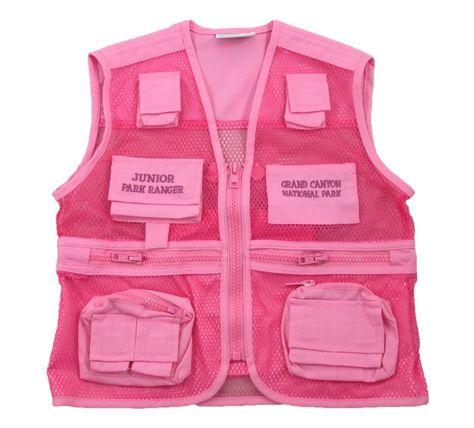Grand Canyon Junior Ranger Vest, Pink