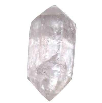 cristal de roche biterminé   Pierre, Pierre lithothérapie, Pierres ...