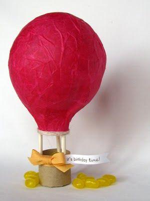 balloon paper mache...