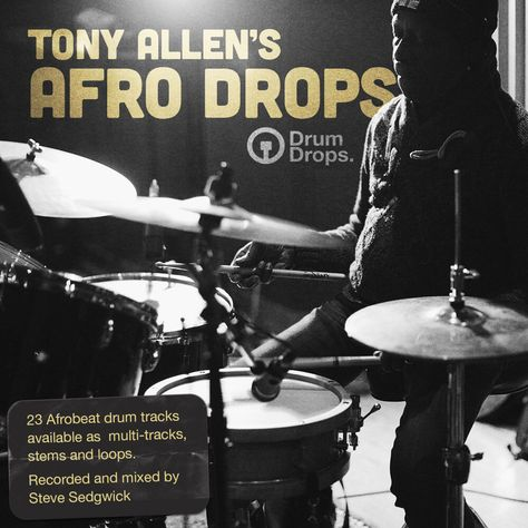 23 Afrobeat drum tracks available to purchase as multi-tracks, stems