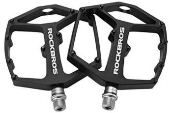 Rockbros Mountain Bike Pedals Large Platform Bicycle Pedals 9 16
