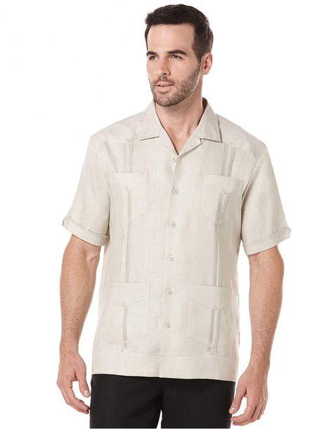 Cubavera Short Sleeve 4 Pocket 100 Linen Guayabera Shirt Reviews Casual Button Down Shirts Men Macy S Guayaberas Guayaberas Hombre Y Guallaveras
