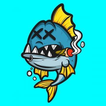 Dead Fish Cartoon Fish Clipart Logo Cartoon Tshirt Design Png Transparent Clipart Image And Psd File For Free Download Fish Clipart Cartoon Clip Art Cartoon Fish