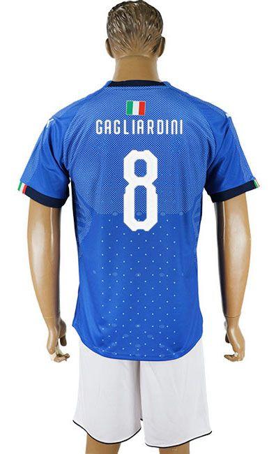 watch 68a7a 90981 2018 Italy Football Shirt #8 | Italy Soccer jerseys,Football ...