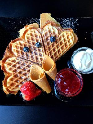 Easy Norwegian Waffles Recipe Norwegian Waffles Swedish Cuisine Scandinavian Food