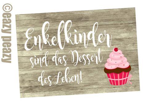 Muttertag & Vatertag - ★ ENKELKINDER ★ Postkarte ★ - ein Designerstück von eazy-peazy bei DaWanda