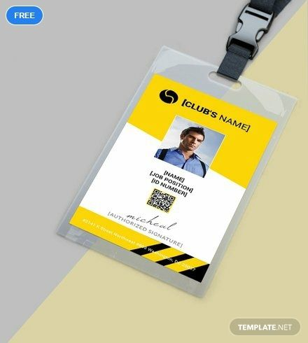 Free Sports Identity Card Template Word Doc Psd Apple Mac Pages Publisher Business Cards Layout Business Card Template Design Business Card Design Inspiration