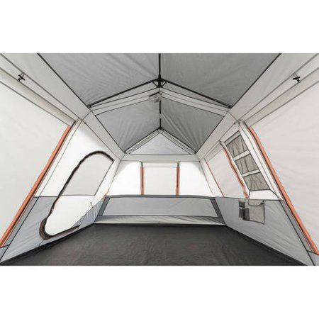 Ozark Trail 10 Person Instant Lighted Cabin Tent Walmart Com Cabin Tent Tent Cabin Lighting