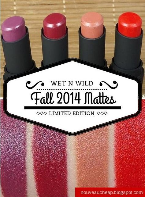 Review & Swatches: Wet n Wild Fall 2014 Limited Edition Megalast Lipstick Collection