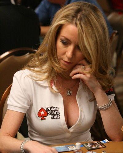 Nude female pro poker players