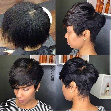 Best Short Pixie Hairstyles For Black Women 2018 2019 Short