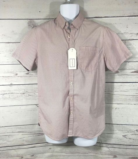 New Cactus Man Ricky Singh Men S Short Sleeve Button Down Slim Fit