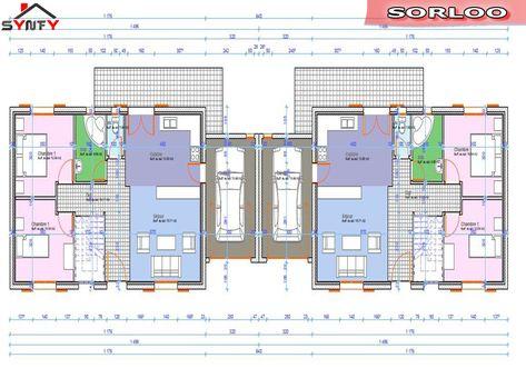 Plan Maison Jumelee Plain Pied Plan De Maison 5
