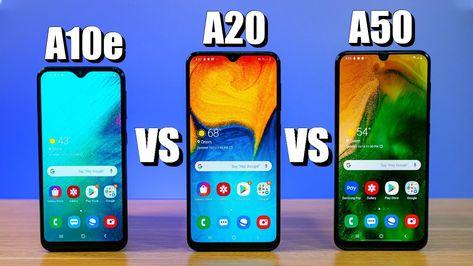 Samsung Galaxy A10e Vs A20 Vs A50 Which Phone Is Right For You Samsung Galaxy Samsung Phone