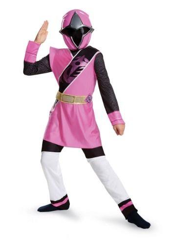 POWER Rangers MOVIE PINK RANGER Bambino Costume Film Personaggio Ragazze Costume
