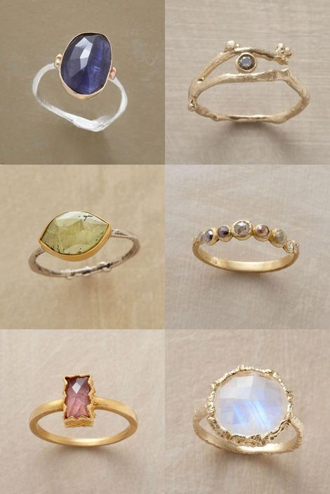 I Love Jewelry sundance rings. these are all gorgeous. the one in the middle on the right looks similar to a mother's ring that my mom wears.