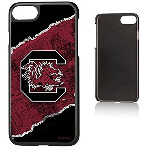 Keyscaper NCAA iPhone 7 Slim Case in Brick