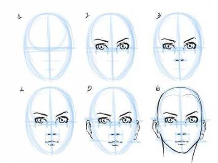 45 Ideas Hair Drawing Tutorial Face Shapes Drawing Tutorial Face Face Drawing Human Face Drawing