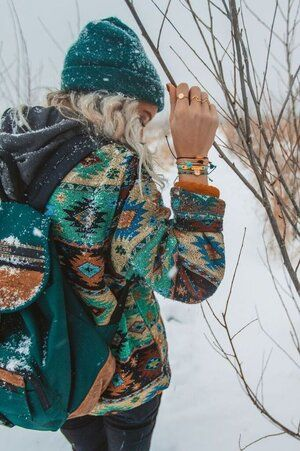 Boho Outfits, Indie Outfits, Winter Outfits, Cute Outfits, Fashion Outfits, Winter Hippie, Winter Stil, Instagram Mode, Instagram Fashion