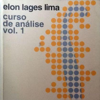 Download PDF - Elon Lages Lima - Curso de Analise Volume 1