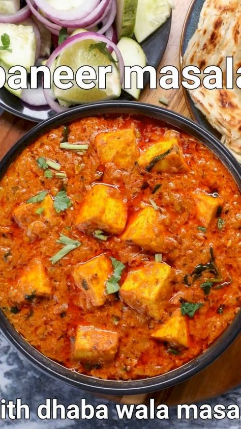 paneer masala recipe dhaba style | dhaba style paneer curry | paneer gravy with detailed photo and video recipe. an extremely popular and tasty way to prepare a rich and creamy paneer recipe with spices and yoghurt. paneer based curry has a cult across india and dhaba style cooking has only infused a new and rich way to prepare it. this particular post tries to address the dhaba way of preparing a simple and tasty paneer masala recipe for rice and roti's.
