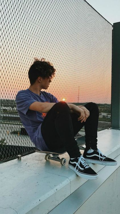 vans skate boy