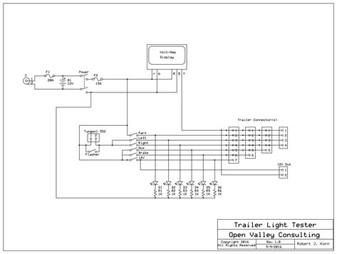 Wiring Diagram For Trailer Light Bookingritzcarlton Info Trailer Light Wiring Trailer Wiring Diagram Trailer