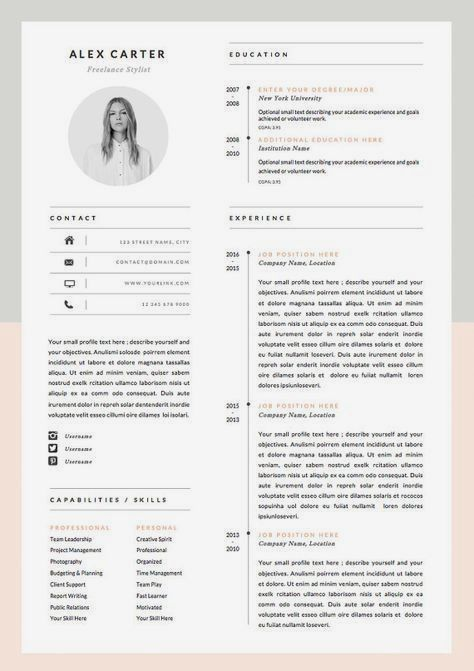 Modern Resume Template Cover Letter Icon Set For Microsoft Word 4 Page Pack Professional Cv Instant Download The Scandi Infographic Resume Modern Resume Template Resume Design